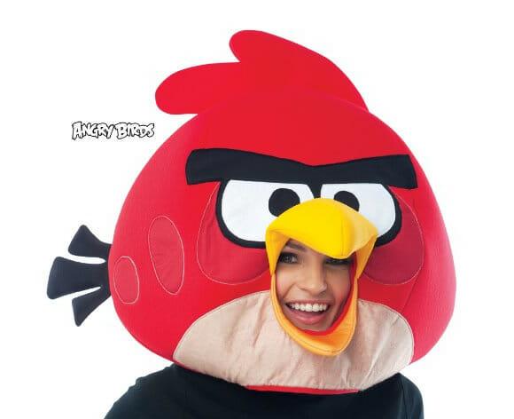 Red Bird Mask - Para sair por aí com cara de Angry Birds!