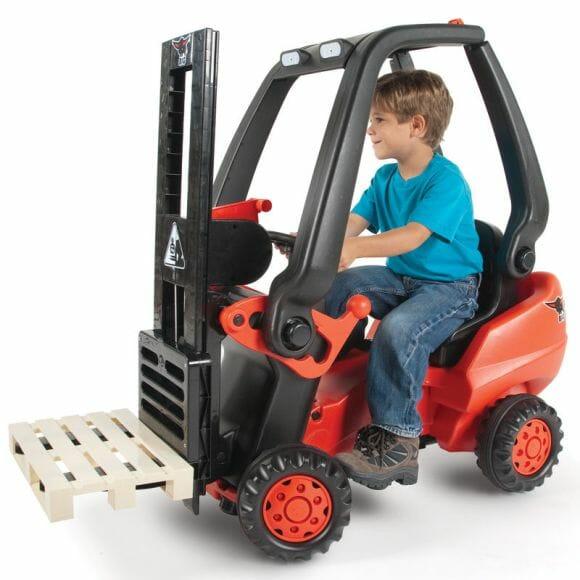 Mini Empilhadeira Elétrica - O mais novo objeto de desejo das crianças.