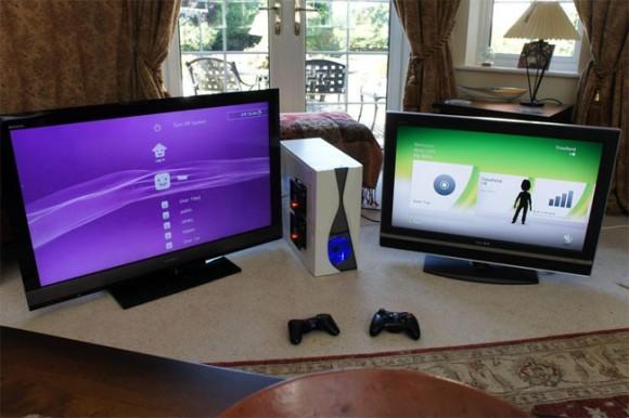 PSBox 360 - O melhor videogame do mundo fruto da união entre PS3 e Xbox 360.