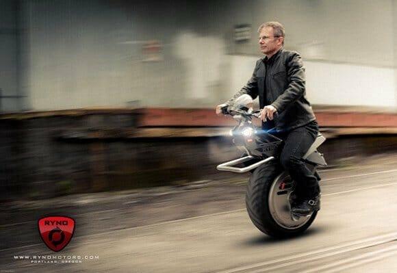 Montadora americana pretende vender moto de 1 roda só já em 2012. (com vídeo)