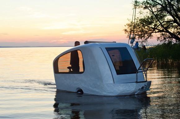 Sealander - O veículo perfeito para os que ainda não se decidiram entre Trailer ou Barco.