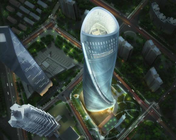 A Mitsubishi está prestes a construir o elevador mais rápido do mundo na China.