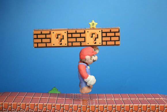 Super Mario de argila!