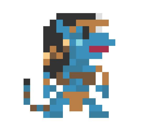 Fantástica coleção pixelizada de personagens famosos inspirada no Super Mario Bros