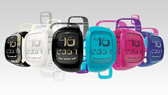 Swatch lança linha de relógios touch.