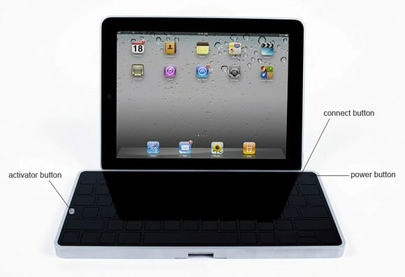 Levitatr - Um teclado bluetooth para Tablets com sistema de elevação de teclas.