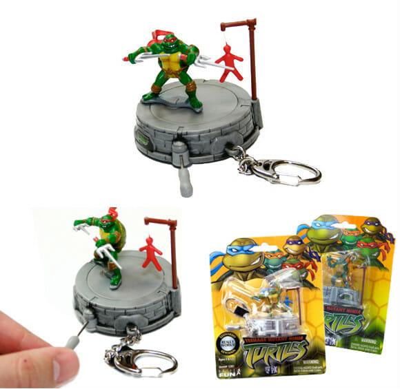 Chaveiro das Tartarugas Ninjas.