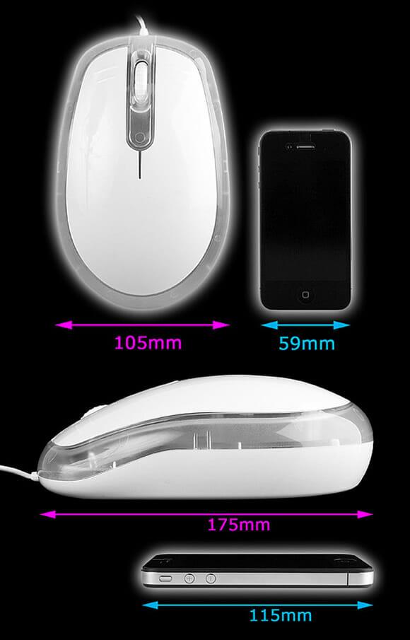 Mini mouse que nada! A moda agora é mouse tamanho GG!