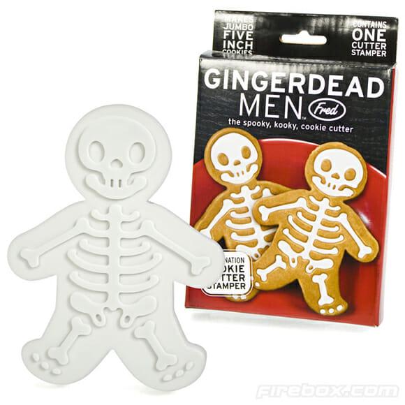 Enfeite sua festa de Dia das Bruxas com esqueletos do Homem Biscoito!