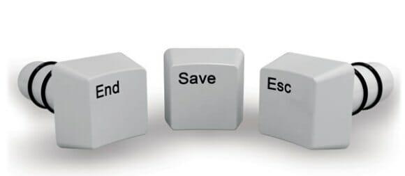 Tampe suas garrafas com teclas de teclado!