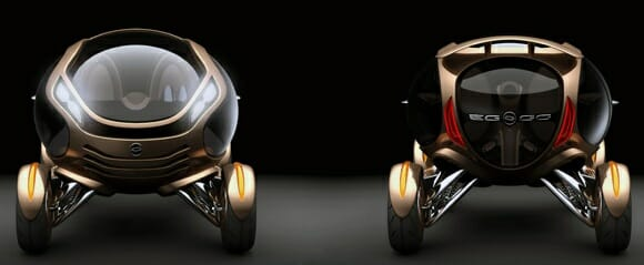 Citroën EGGO - Um carro conceito em forma de Ovo para as ruas do futuro.