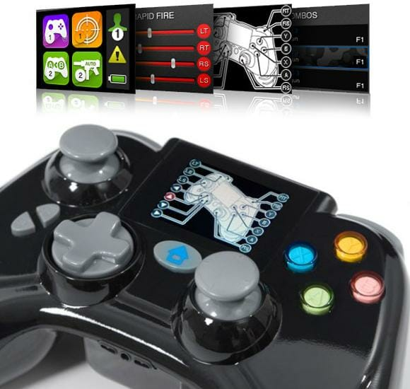 Novo controle para Xbox 360 com display integrado facilita a vida de gamers.
