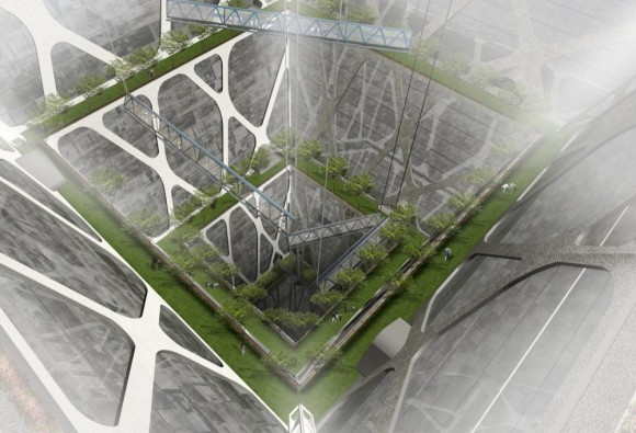 The Earthscraper - O incrível arranha-céu subterrâneo!