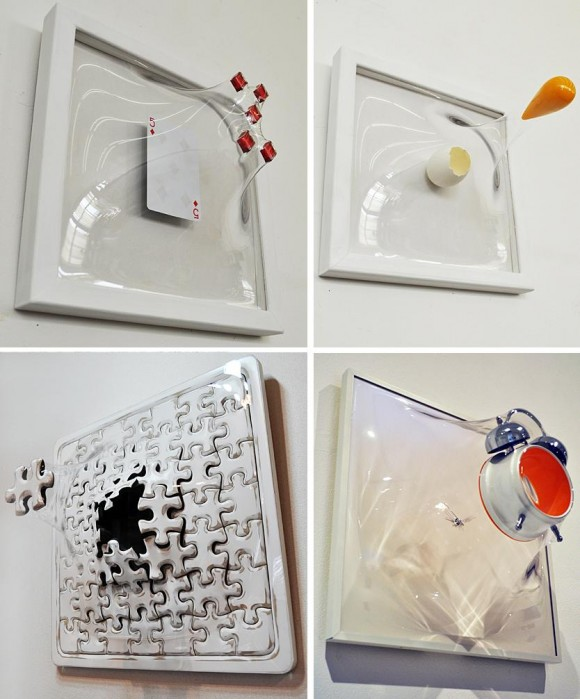 Scape - Uma coleção de criativas esculturas de objetos que resolveram fugir.