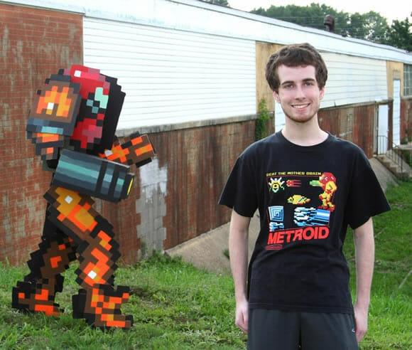 A melhor fantasia do game Metroid em 8-bits de todos os tempos!