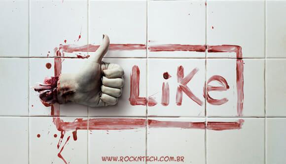 FOTOFUN - Botão Zumbi do Facebook.