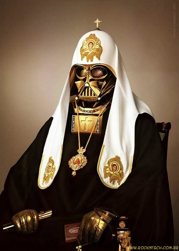 FOTOFUN - Papa Darth Vader.