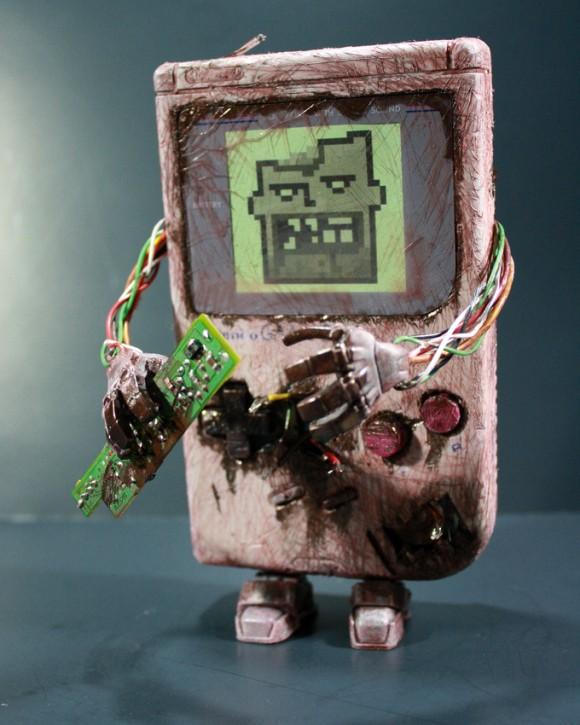Gameboy Zumbi para o Halloween dos geeks!