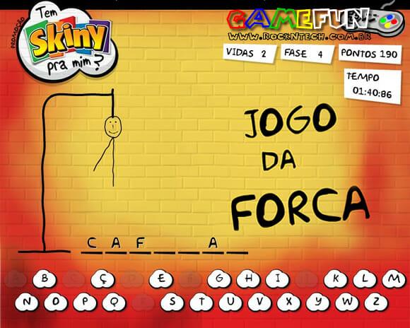 GAMEFUN - Jogo da Forca.