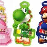 Linha de hidratantes labiais do Super Mario.