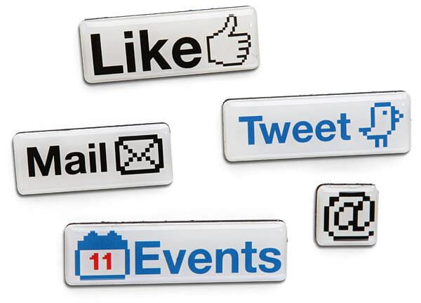Ímã de mídias sociais: Curta essa ideia!