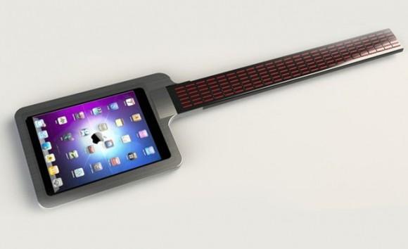 Acessório especial transforma o iPad em uma guitarra futurística. (vídeo)