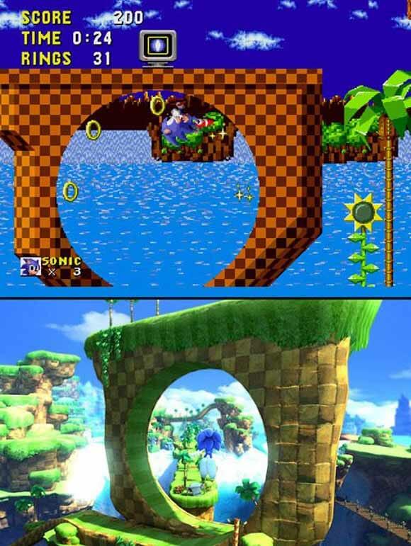 Jogos de antigamente vs. Jogos de hoje em dia.
