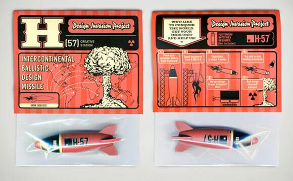 Pen drive em forma de míssil: Explosivos não incluídos.