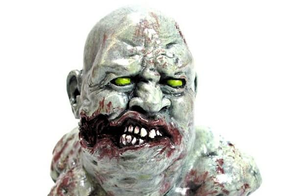 Zombie Paperweight - Um Zumbi para cuidar da sua papelada.