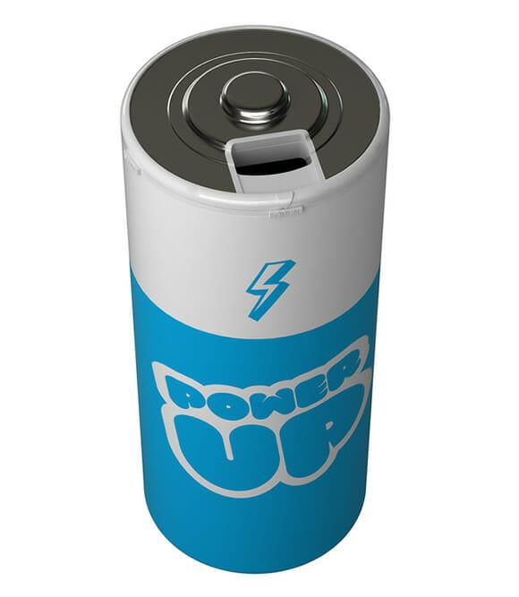 Agora você pode recarregar suas energias com uma pilha gigante!