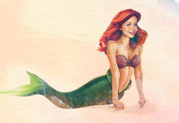 Ilustrações ainda mais realistas das princesas da Disney