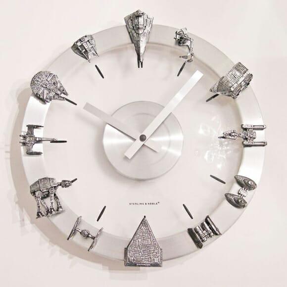 Tenha um relógio customizado com as naves de Star Wars!