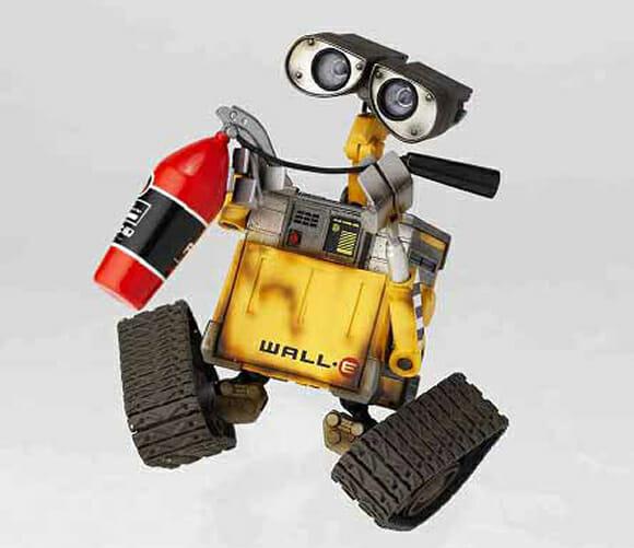 Action Figure do Wall-E para colecionadores.