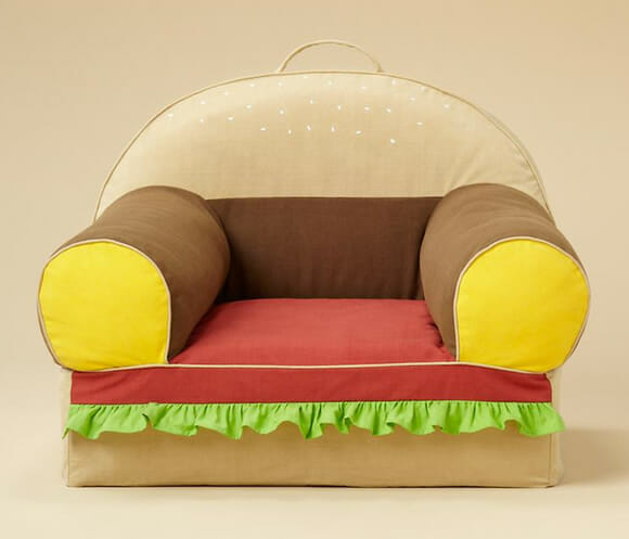 Hamburger Chair: Sirva-se, ou melhor, sente-se!