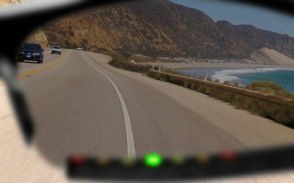 Sportiiiis HUD oferece informações com LEDs nos óculos de ciclistas em tempo real. (vídeo)