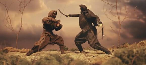 VIDEOFUN - Stop Motion Duelo de Ninjas.
