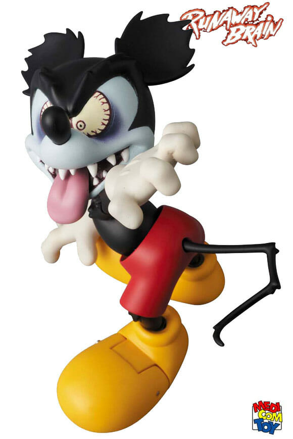 "Action Figure Mickey Mouse ""Insano"" baseado no curta Runaway Brain (vídeo)"