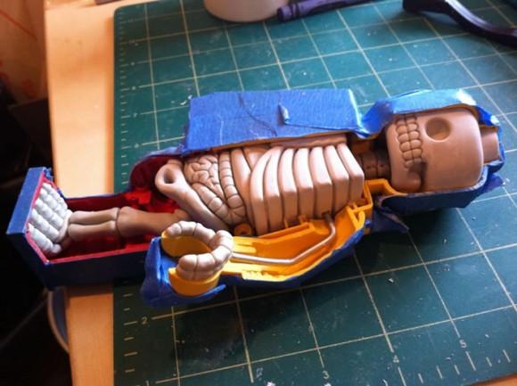 Anatomia de um minifigure de LEGO