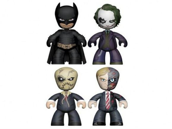 Nova coleção de action figures e veículos do Batman