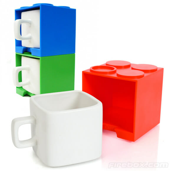 Cube Mugs: Canecas divertidas inspiradas nos blocos de LEGO