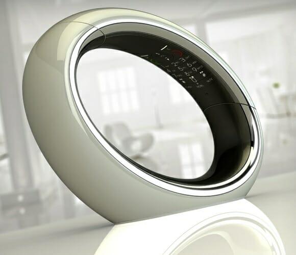Eclipse DECT - Um telefone sem fio circular com design futurista