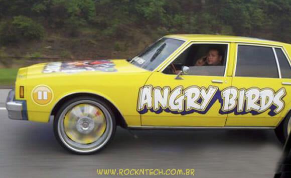 FOTOFUN - Carro Angry Birds