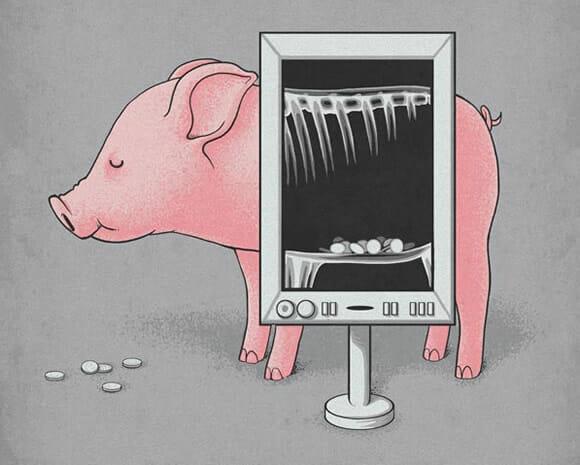 As curiosas ilustrações de Nacho Diaz