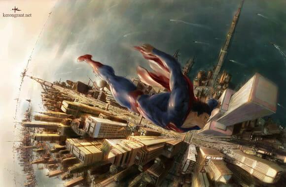Ilustrações AWESOME de Super-Heróis