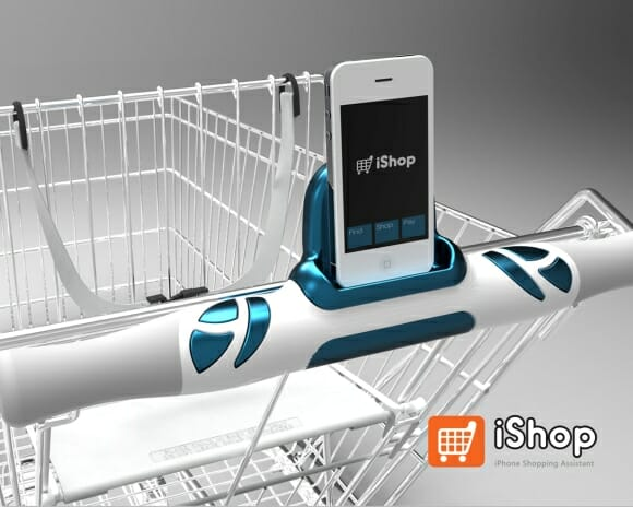 iShop transforma carrinhos de supermercado em carrinhos eletrônicos inteligentes!