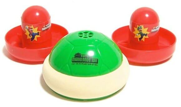Com o Turtle Air Hockey você joga Air Hockey como se estivesse jogando Super Mario!