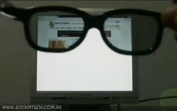 Monitor ultra privativo exibe imagens que somente os olhos do dono podem ver (video)