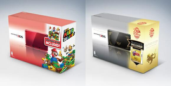 Nintendo anuncia novas versões de Nintendo 3DS equipados com Super Mario e Zelda