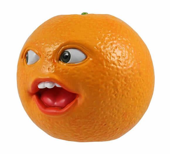 Laranja Irritante (Annoying Orange) vira coleção de figures