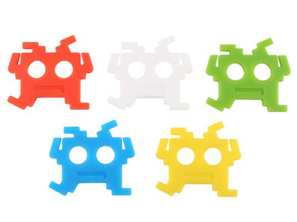 Space Invaders para organizar os fios do seu fone de ouvido